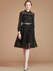 mubo木帛女装蕾丝裙