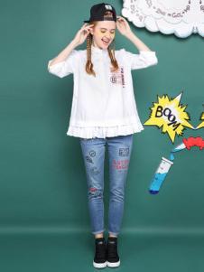 MGGM木果果木女装白衬衫