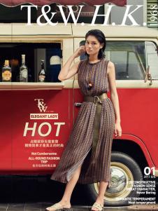 T&W17新款民族风时尚连衣裙