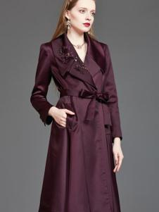 mubo木帛女装长款风衣