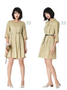 T&W17新款知性唯美连衣裙