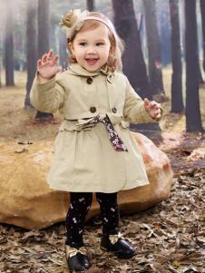 棉之子童装女童风衣