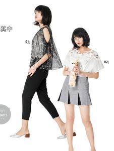 T&W17新款时尚潮流上衣