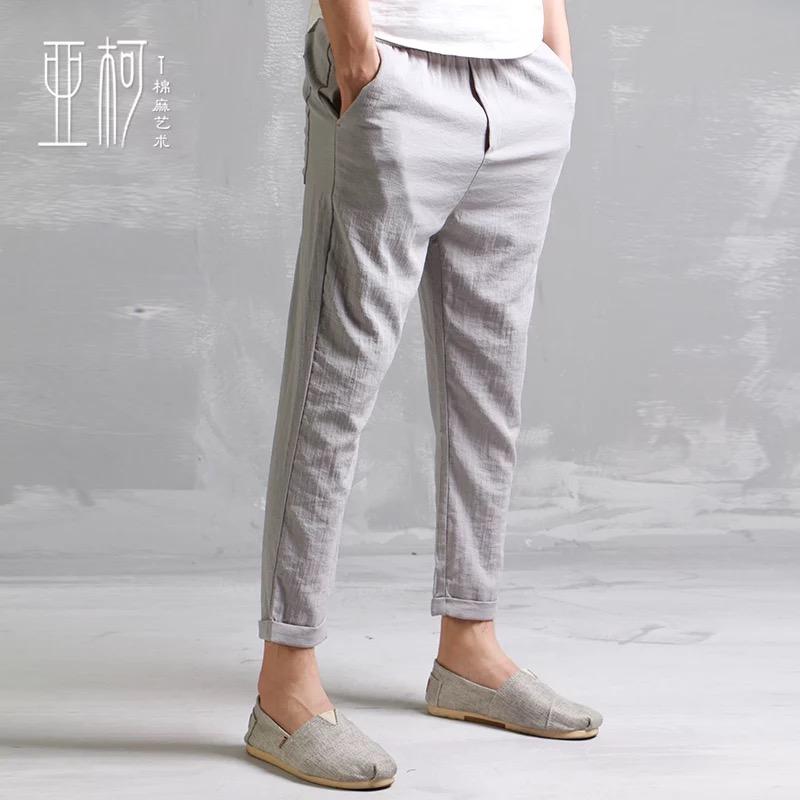 大量夏季短袖t恤尾货童装批发中老年装服装棉麻短袖按捺住休闲裤裤子