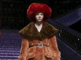 缪缪 (Miu Miu) 2017秋冬巴黎时装秀诠释少女柔情
