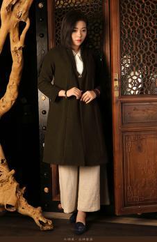 木棉道纯色外套