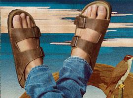 你熟悉的卖勃肯鞋的鞋履品牌 竟然是化妆品出身