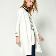 布莎卡女装 白色外套新搭配