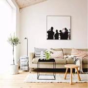 新申亚麻体验中心:亚麻沙发搭配木质元素 呼吸早春阳光味