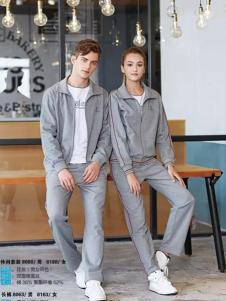 尼高2017运动装新品灰色简约外套