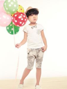 Hello child童装白色T恤
