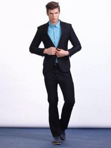 男孩制造MIB男装黑色西装