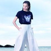 诺娜莉女装时尚搭配 白色阔腿裤怎么穿都好看!