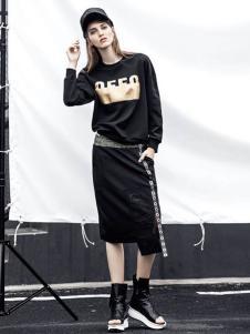 欧E女装欧E2017春夏新品卫衣T恤