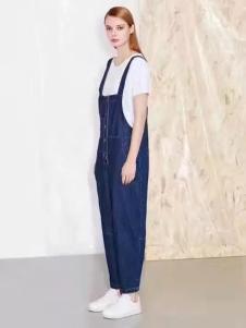 诺兰贝尔女装牛仔背带裤