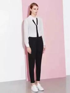 诺兰贝尔女装简约白衬衫