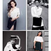 HON.B红贝缇春日时尚穿搭术|黑+白 上下装最经典的配色