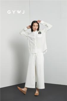 GYWJ(己以)2017春款白衬衫