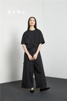 GYWJ己以2017春款黑色套装