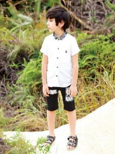 帕纳摩亚童装男童衬衫
