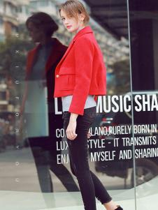 璞秀女装短款外套