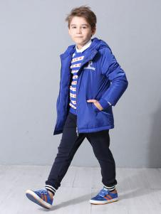 POOK朋库一代童装蓝色休闲外套