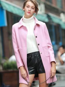 璞秀女装粉色外套
