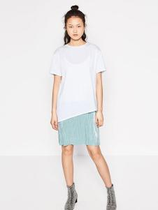 波可诺新款女装T恤裙
