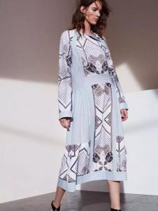 BCBG Max Azria女装2017春夏新品长裙