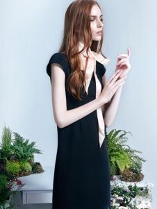 红贝缇2017春夏新款唯美连衣裙