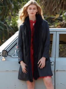 QZMEI芊之美女装黑色风衣
