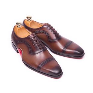 量脚定做皮鞋,预约角度订制手工皮鞋