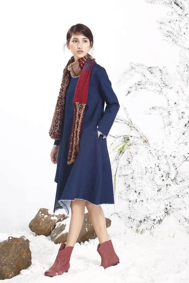 广州知名休闲棉麻品牌 布波堡春装女装连衣裙批发 品牌折扣