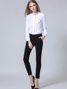 CXDTOP茜诗迪2017春夏新品白衬衫
