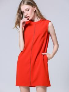 CXDTOP茜诗迪2017春夏新品直筒裙