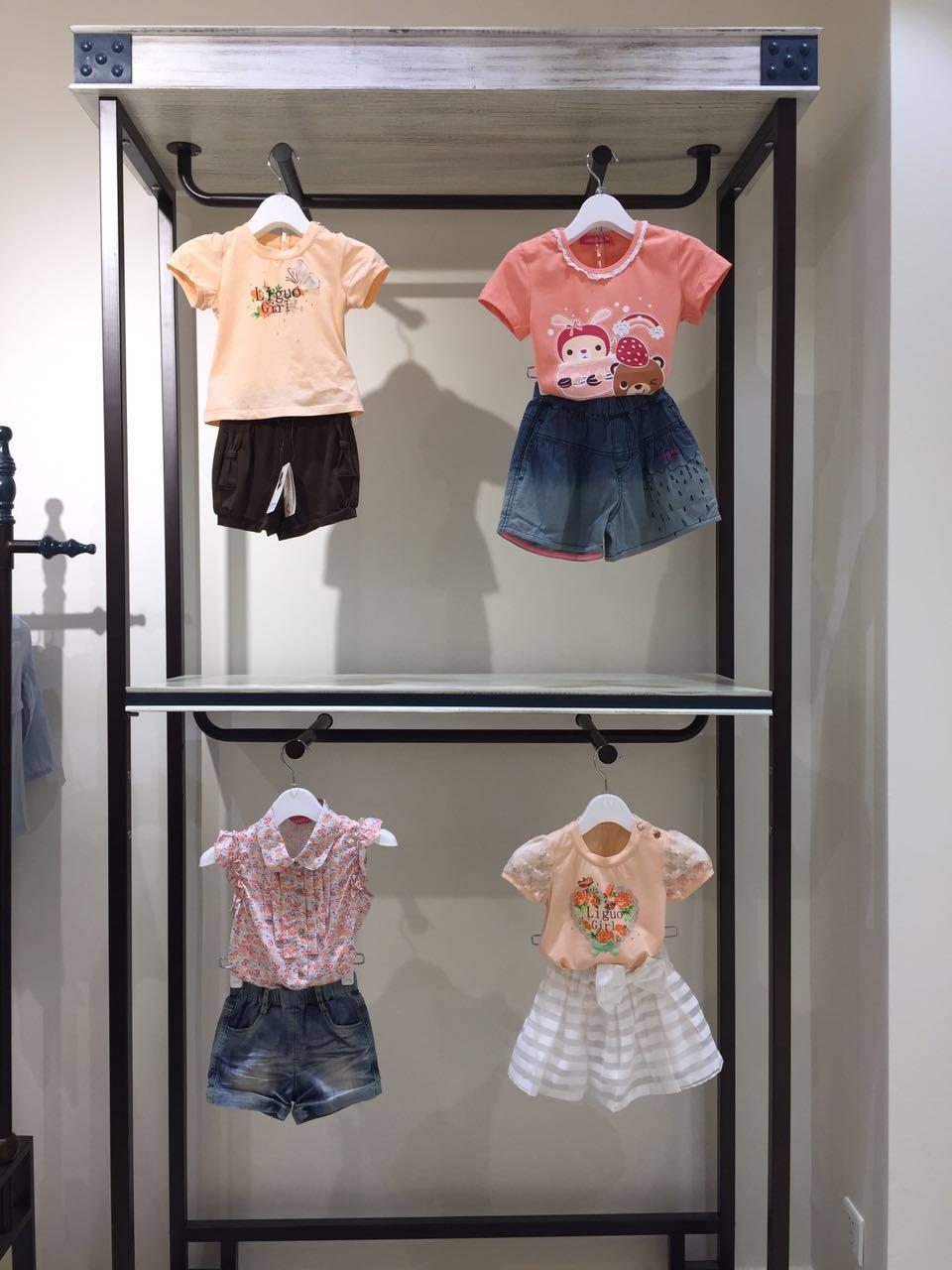 时尚韩版童装 力果贝贝夏 专柜正品  库存尾货走份批发