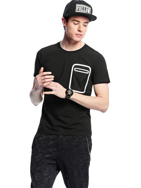 诺奇男士T恤新款