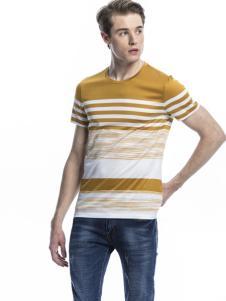 诺奇男士条纹T恤