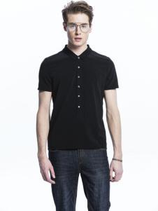 诺奇男士带扣T恤