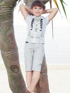 青蛙皇子童装男童衬衫