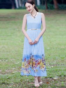 晴迷桂莉女装长裙