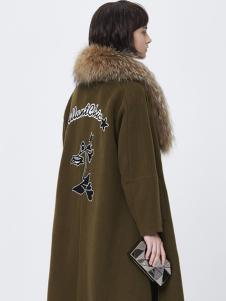 Rubin如缤女装毛领大衣