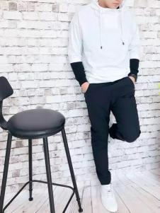 REDU热度2017春夏新品白色卫衣