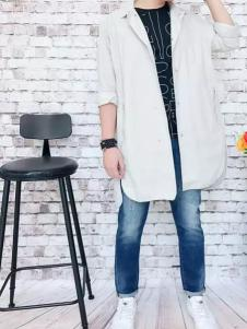 REDU热度2017春夏新品宽松外套