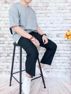 REDU热度2017春夏新品纯色圆领T恤