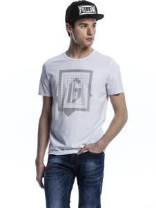 诺奇男士圆领T恤