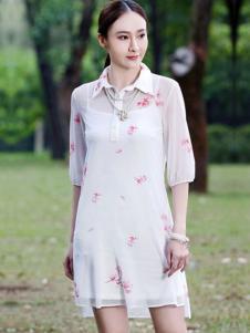 晴迷桂莉女装衬衫裙