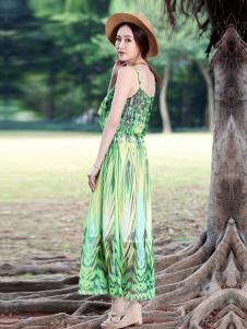 晴迷桂莉女装吊带裙