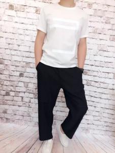 REDU热度2017春夏新品纯色T恤