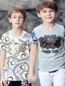 青蛙皇子童装男童T恤